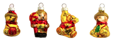 Набор елочных игрушек SNOWHOUSE GM725-302