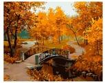 """Белоснежка Картина по номерам """"Осенний парк"""" 40х50 см (527-CG)"""