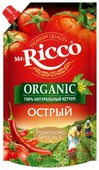 Кетчуп Mr.Ricco Острый organic с перцем чили и чесноком, дой-пак