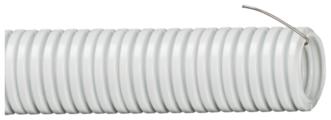 Труба гофрированная ПВХ с зондом IEK 16 мм x 100 м