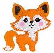 Feltrica Набор для изготовления мягкая игрушка Лисенок (4627130659685)