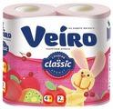 Туалетная бумага Veiro Classic Сладкий аромат двухслойная