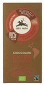 Шоколад Alce Nero горький с дроблеными зернами какао