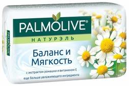 Мыло кусковое Palmolive Натурэль Баланс и мягкость с экстрактом ромашки и витамином Е