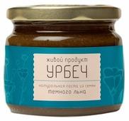 Живой Продукт Урбеч натуральная паста из семян темного льна
