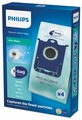 Philips FC8022/04 Антиаллергенные мешки S-bag