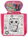 MultiArt Набор для росписи сумки Совушки (ST-1507-OWL)