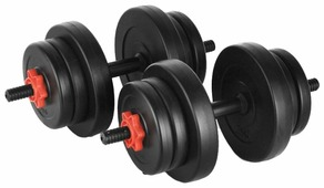 Гантели, гири, штанги Lite Weights 2327LW 2x10 кг
