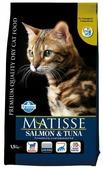 Корм для кошек Farmina Matisse с лососем, с тунцом