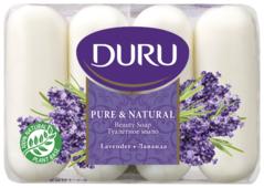 Мыло кусковое DURU PURE & NATURAL Лаванда