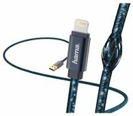 Кабель HAMA USB - Apple Lightning Glitter (00183205) 1.5 м
