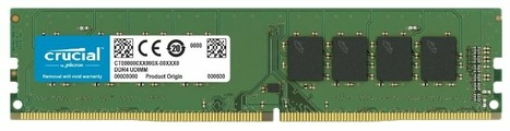 Оперативная память 4 ГБ 1 шт. Crucial CT4G4DFS824A