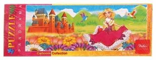 Пазл Hatber Cartoons Collection Panorama Милая принцесса (90ПЗ4_09190), 90 дет.
