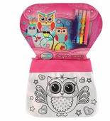 MultiArt Набор для росписи сумки Совушки (ST-1506-OWL)