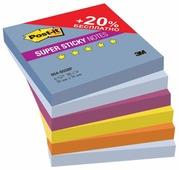 Post-it Блок-кубик Super Sticky, 76x76 мм, 540 штук (654-6SS)