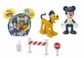 Фигурки IMC Toys Микки Маус полицейский и Плутто 182332