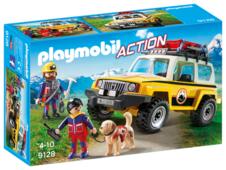 Набор с элементами конструктора Playmobil Action 9128 Грузовик горноспасателей