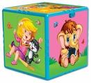 Интерактивная развивающая игрушка Азбукварик Говорящий кубик. Любимые мультяшки