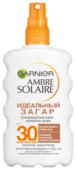 GARNIER Ambre Solaire солнцезащитный спрей Идеальный Загар SPF 30