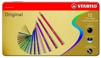 STABILO Цветные карандаши Original 12 цветов (8773-6)