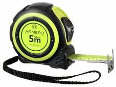 Рулетка ARMERO A101/252 5/25мм с двумя фиксаторами магнит нейлон
