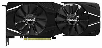 Видеокарта ASUS GeForce RTX 2080 Ti 1350MHz PCI-E 3.0 11264MB 14000MHz 352 bit HDMI HDCP Dual OC