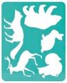 Трафарет СТАММ Лесные звери (ТТ93)