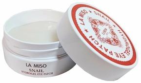 La Miso Гидрогелевые патчи с экстрактом слизи улитки для кожи вокруг глаз