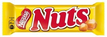 Батончик Nuts с цельным фундуком, 50 г
