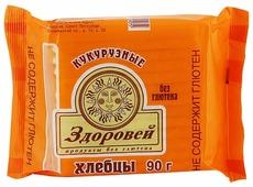 Хлебцы кукурузные Здоровей 90 г