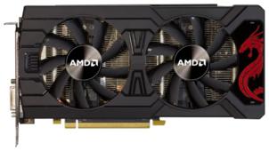 Видеокарта PowerColor Radeon RX 570 1105Mhz PCI-E 3.0 4096Mb 8000Mhz 256 bit DVI HDCP Red Dragon