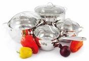 Набор посуды LARA LR02-87 8 пр