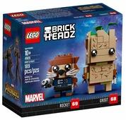 Конструктор LEGO BrickHeadz 41626 Грут и Ракета