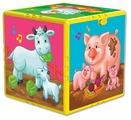 Интерактивная развивающая игрушка Азбукварик Говорящий кубик. В гостях на ферме
