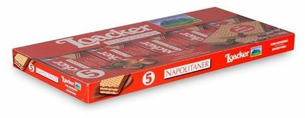Вафли Loacker Napolitaner с лесным орешком 45 г