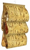Valiant Кофр подвесной для хранения сумок с вешалкой 5 карманов P5