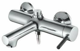 Однорычажный смеситель для ванны с душем Frap H44 F3244