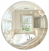 Зеркало Mixline Звезда 525446 58x58см без рамы