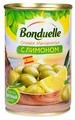 Bonduelle Оливки Мансанилья с лимоном, жестяная банка 314 мл