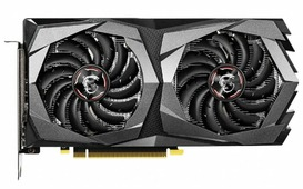 Видеокарта MSI GeForce GTX 1650 1695MHz PCI-E 3.0 4096MB 8000MHz 128 bit 2xDisplayPort HDMI HDCP GAMING