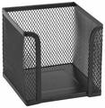 Axent куб для бумаги 100х100х100 мм, металлическая сетка