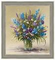 Набор алмазной вышивки Алмазная живопись Букет полевых цветов / АЖ-1097