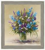 Алмазная живопись Набор алмазной вышивки Букет полевых цветов (АЖ-1097) 50х55