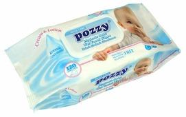 Влажные салфетки Pozzy Cream & Lotion