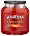 Перец острый в томатной мякоти южный ЛУКАШИНСКИЕ стеклянная банка 670 г