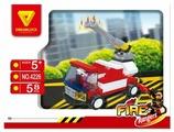 Конструктор DREAMLOCK Fire Rangers 4226