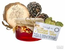 Кедровый орех в сосновом сиропе Таёжный Тайник, банка 120 г