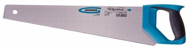 Ножовка по дереву Gross Piranha 24104 500 мм