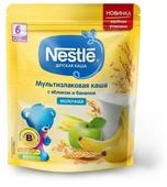 Каша Nestlé молочная мультизлаковая с яблоком и бананом (с 6 месяцев) 220 г дойпак