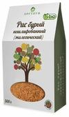 Рис Оргтиум бурый нешлифованный (экологический) 500 г